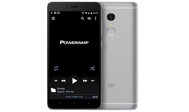 software player Poweramp - Reference Audio Analyzer